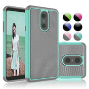 LG Stylo 5 Cases, LG Stylo 5 Plus Case, LG Stylus 5 Case, Njjex Ruugged Rubber Scratch Resistant Hard Plastic Phone Case For LG G Stylo 5 (2019 Released)