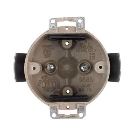 H9338-ESK Fiberglass Old Ceiling Round Work Outlet Box