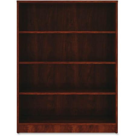 Lorell, LLR99785, Cherry Laminate Bookcase, 1 Each, Cherry