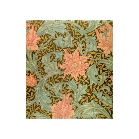 "Single Stem"" Wallpaper Design"" Print Wall Art By William Morris"
