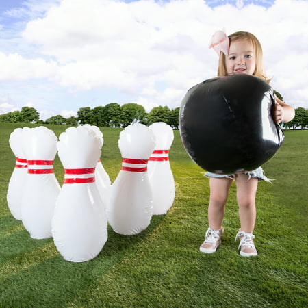 Kids Giant Bowling Game Set by Hey! - Witches Bowling Halloween Games