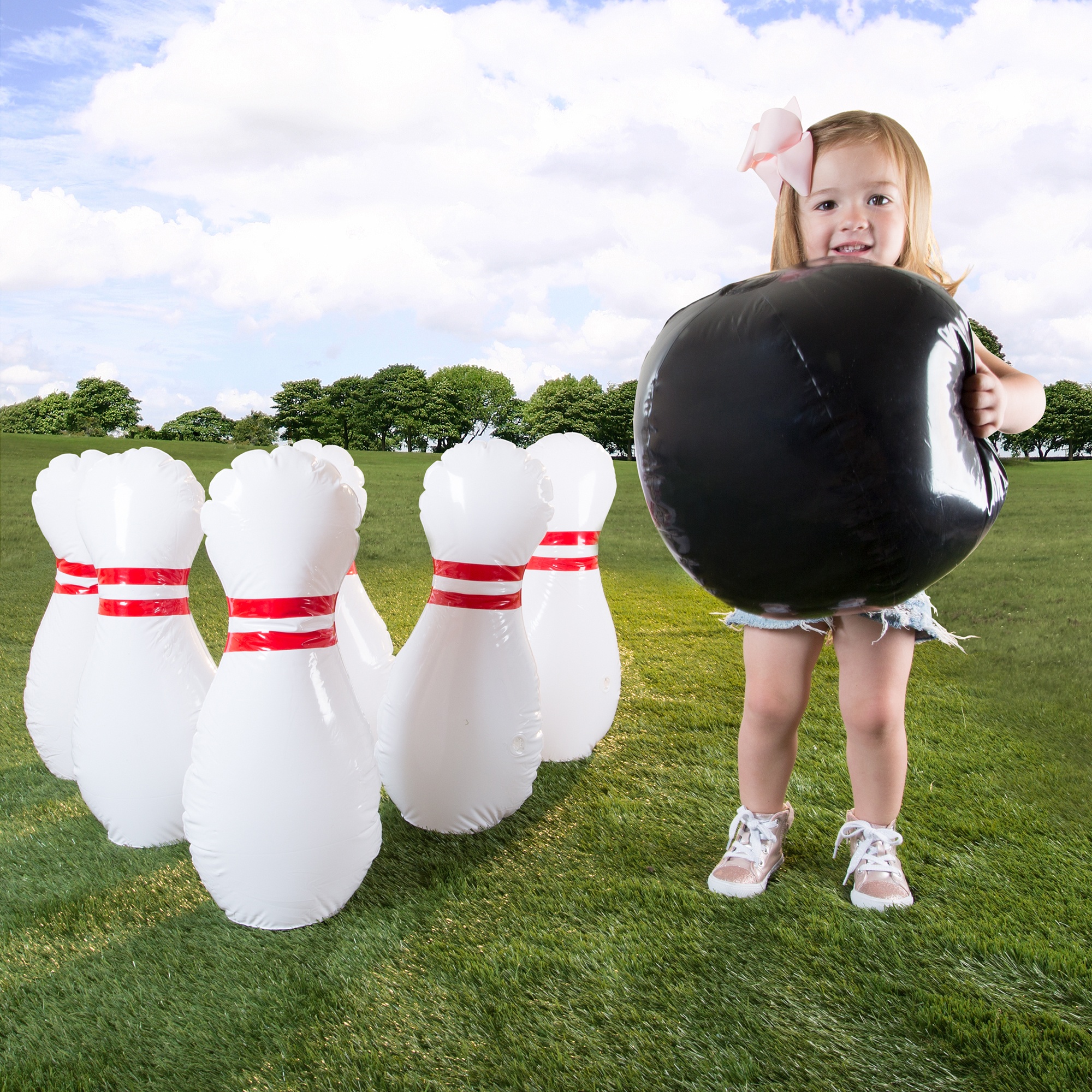 Kids Giant Bowling Game Set by Hey! Play!