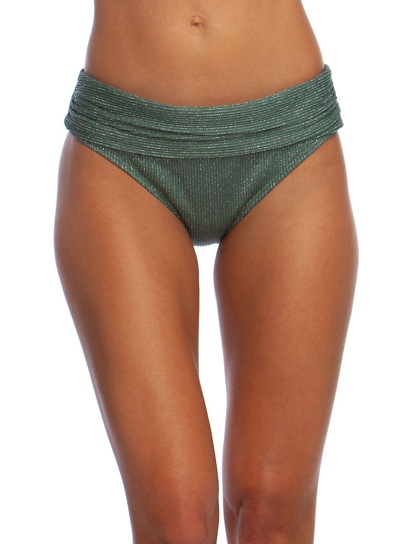 Luxury Rib Banded Hipster Bikini Bottom
