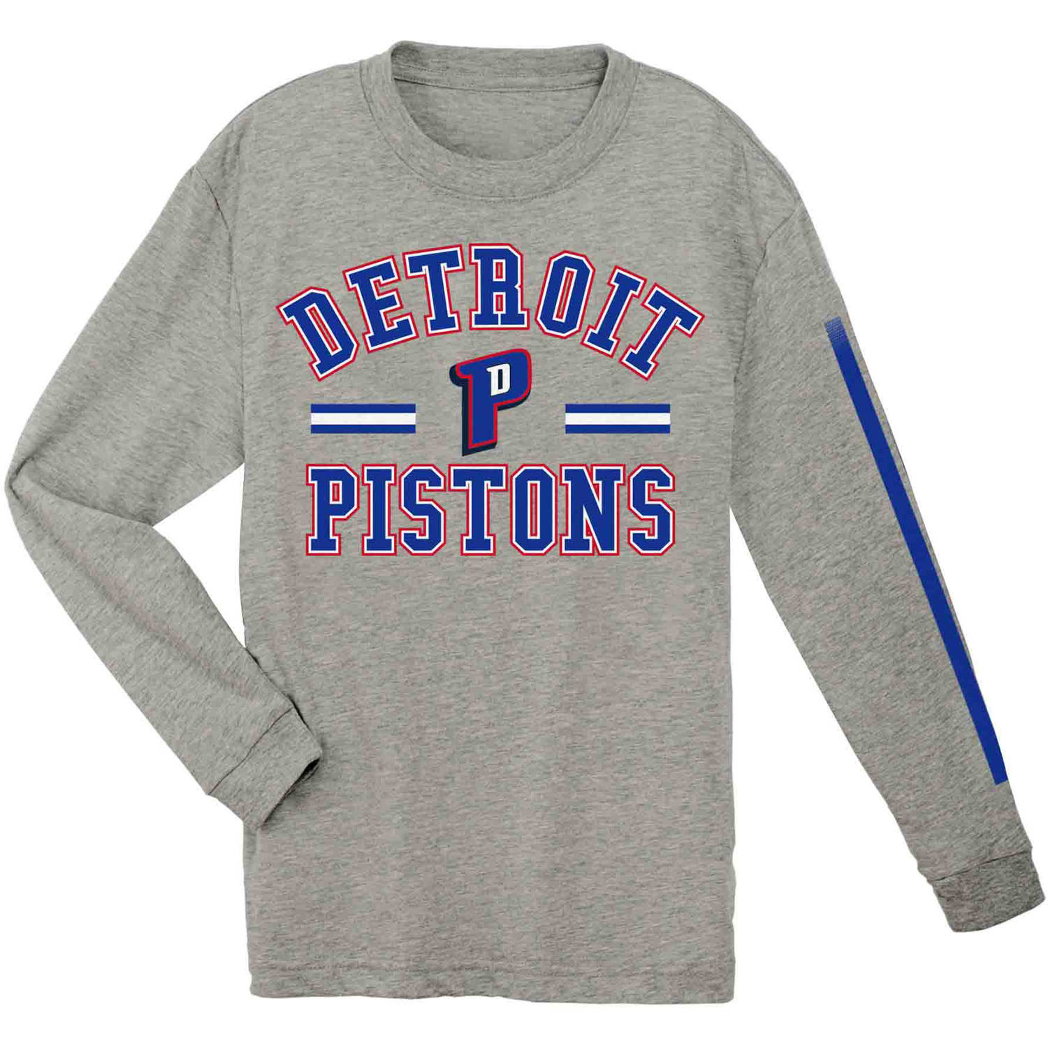 NBA Detroit Pistons Youth Team Long Sleeve Tee