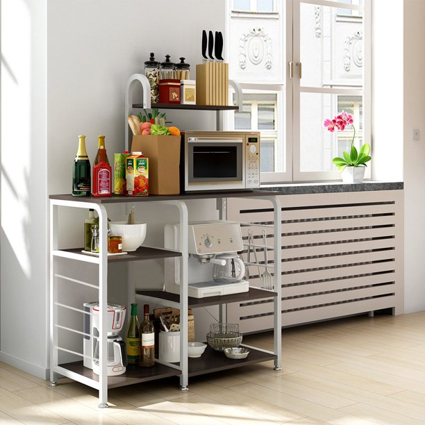 Multifunctional Kitchen Rack Microwave Oven Floor Shelf ...