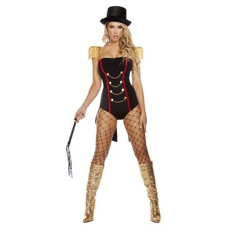 Adult Sexy Ravishing Ringleader Costume by Roma 4623, Medium/Large for $<!---->