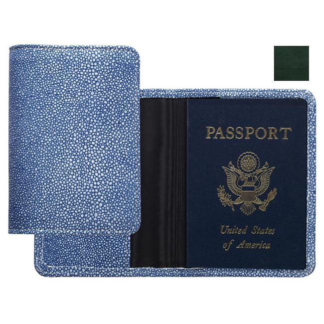 Raika RM 115 GREEN Passport Cover - Green