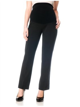 Women's Pants Stretch Straight-Leg Maternity XS