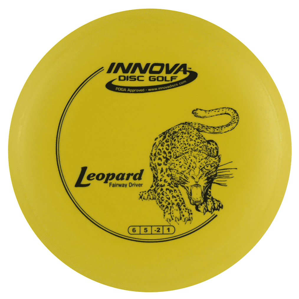 Innova DX Leopard 140-150g Fairway Driver Golf Disc [Colors may vary] 140-150g by