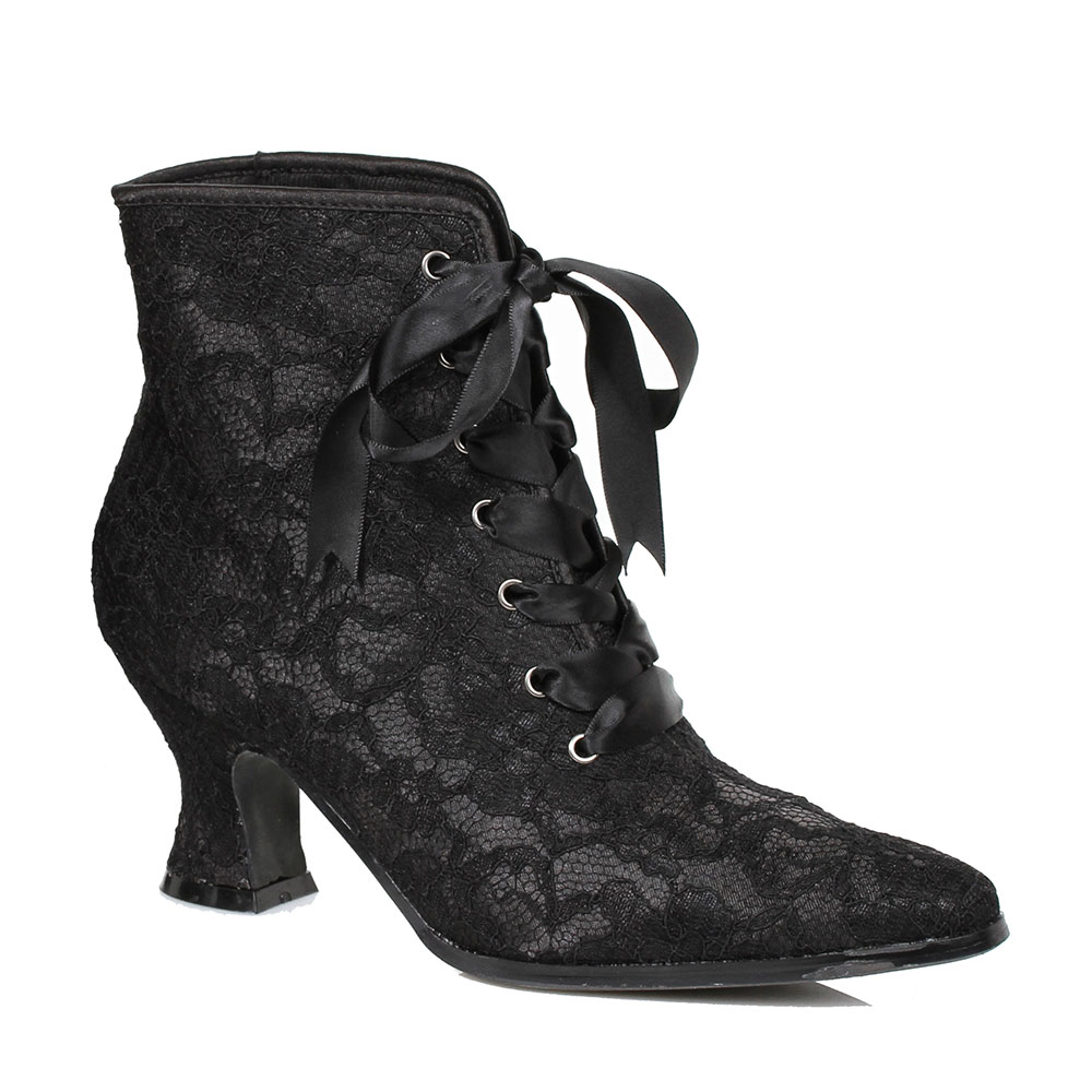 Brilliant Costume- Ladies Laced Decorated Victorian Boots - TheVikingStore.co.uk