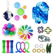 Fidget Toy Set,Cheap Fidget Pack for Kid Adults,Dimple Toy Stress Relief