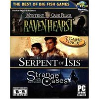 Ravenhearst, The Serpent of Isis & Strange Cases Hidden Object Adventure (PC CD), 3 Pack