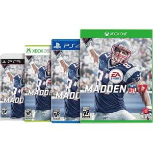 Madden NFL 17, Electronic Arts, Xbox 360, 014633368901
