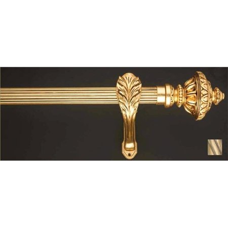 Palas 1185 Curtain Rod Set - 1.75 in. - Oxidized Brass - 63 in. - image 1 de 1
