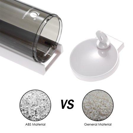 CHUANGDIAN 300ml Wall-mounted Single Bottle Manual Soap Dispenser Shampoo Box Soap Dispenser & Holder Toilet Hand Washing Liquid Shampoo Shower Gel Dispenser - image 6 of 7