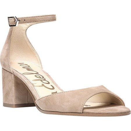 3700d6e004a4 Sam Edelman - Women s Sam Edelman Susie Ankle Strap Sandal - Walmart.com