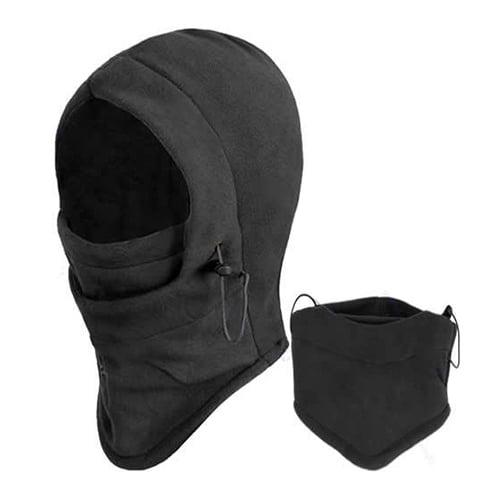 Micelec Unisex Thermal Fleece Balaclava Hood Outdoors Ski Bike Wind Stopper Face Mask by 5.6