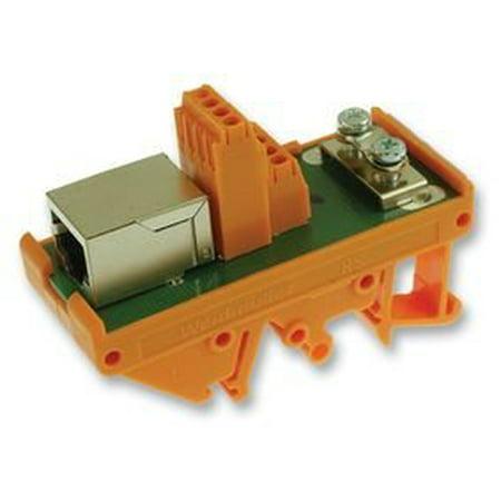 WEIDMULLER 8611320000 CONNECTOR, TERMINAL BLOCK INTERFACE, RJ45-RJ45