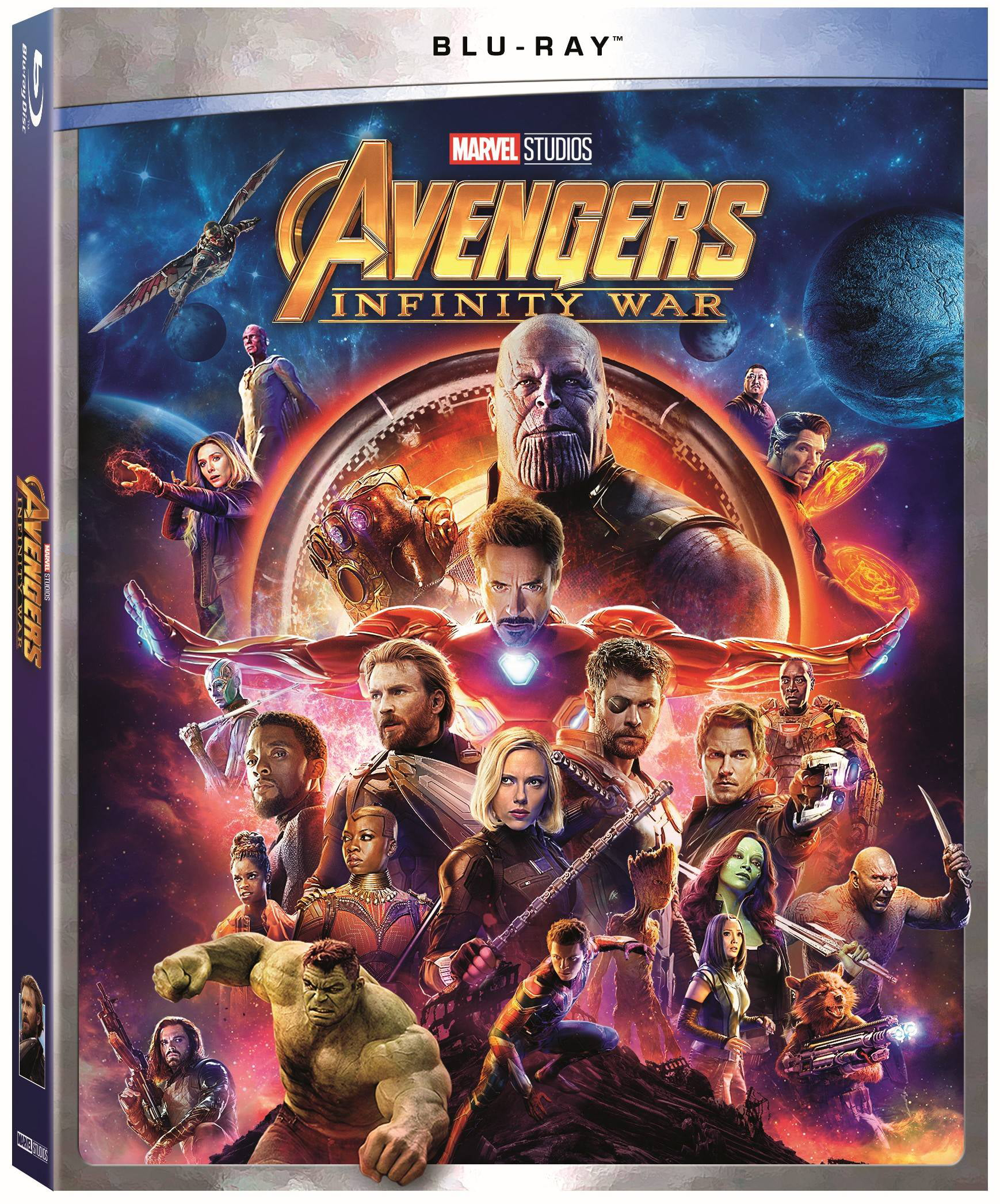 Avengers: Infinity War (Walmart Exclusive) (Blu-ray) by