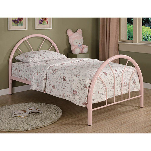 Coaster Twin Metal Bed, Multiple Colors