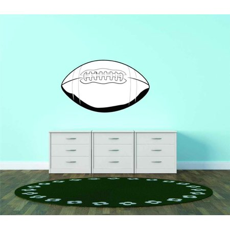 American football ball rugby men sports ball vinyl wall for Alabama football wall mural