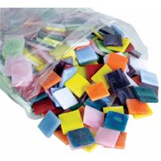 Stained Glass Mosaic Pieces 4Lb