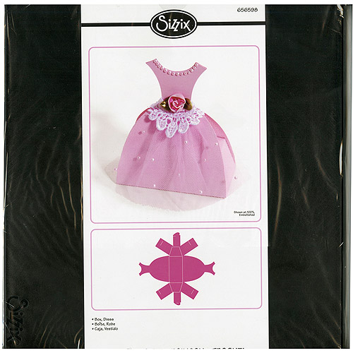 Sizzix Bigz Big Shot Pro Die, Dress Box