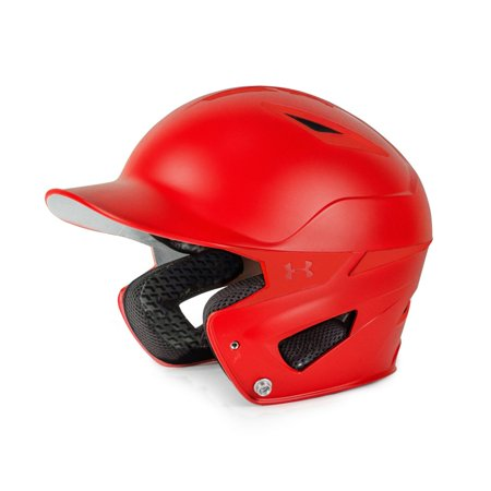 Under Armour Youth Matte Converge Batting Helmet UABH2-110M Scarlet ()