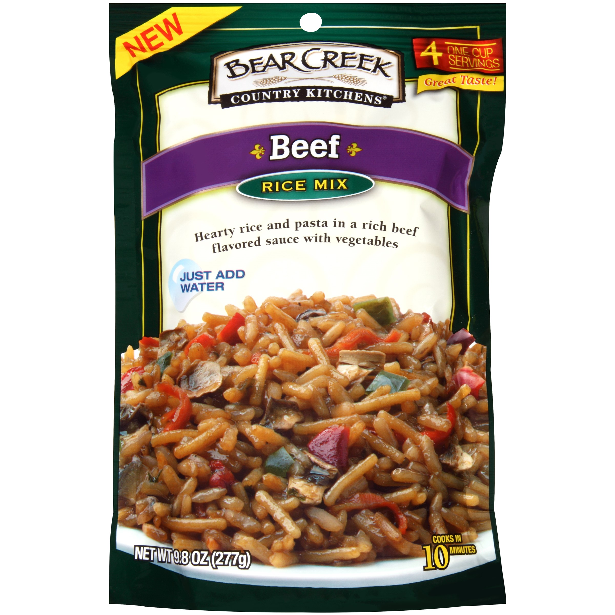 Bear Creek Country Kitchens? Beef Rice Mix 9.8 oz.