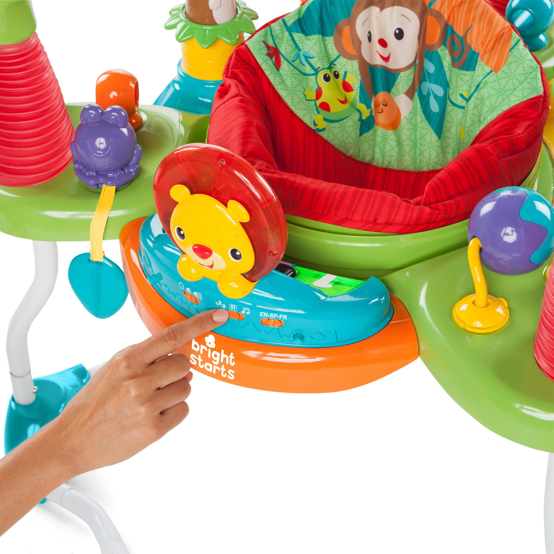 6ec9d5930 Bright Starts Explore   Roar Activity Jumper - Walmart.com