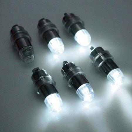 LED Balloon White Lights, Blinking, 1-1/4-Inch, - Blinking Balloon Lights
