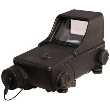 Meprolight Tru Dot Rds  Red Dot Sight  1 8Moa  Black Finish  Integral Picatinny Rail Adapter Mepro Tru Dot Rds