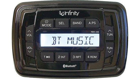 Infinity PRV-250 AM FM BT Stereo Receiver by Infinity