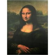 "Oriental Furniture 31.5"" Classic Mona Lisa, printed on Canvas wall art"