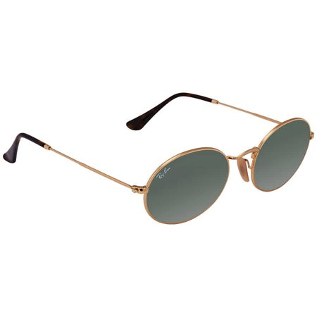 Ray Ban Green Classic G-15 Oval Flat Sunglasses RB3547N 001 54 (Ray Ban Zubehör Teile)