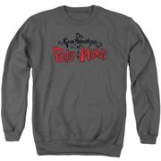 Grim Adventures Of Billy And Mandy Grim Logo Mens Crewneck Sweatshirt