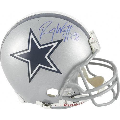 NFL - Roy Williams Autographed Pro-Line Helmet   Details: Dallas Cowboys, Authentic Riddell Helmet