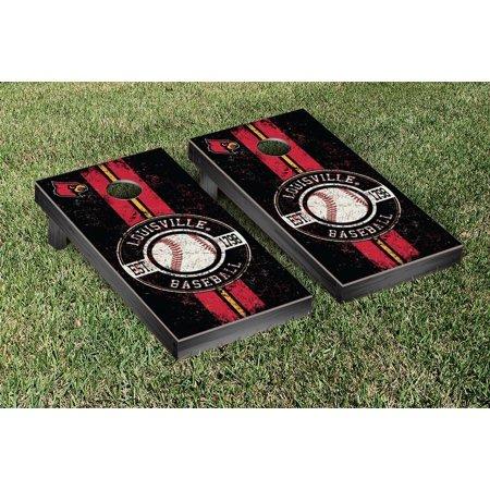 Louisville Cardinals Coin - Louisville Cardinals Cornhole Game Set