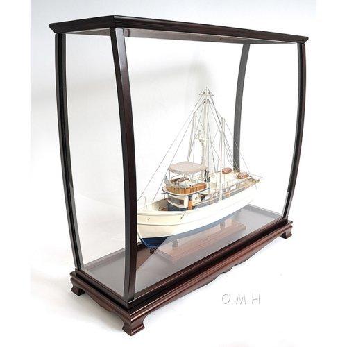 Old Modern Handicraft Medium Display Case For Tall Ship