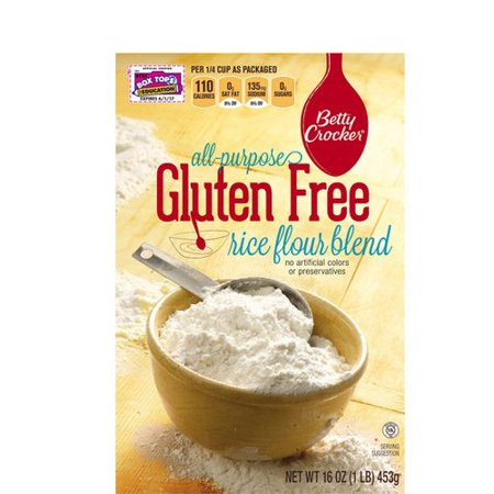 Betty crocker all purpose gluten free rice flour blend 16 for Atkins cuisine all purpose baking mix where to buy