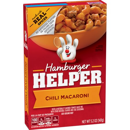 Hamburger Helper Chili Macaroni  5 2 Oz