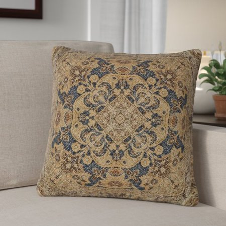 Fleur De Lis Living Bima Cotton Throw Pillow