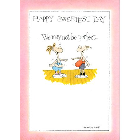 Sweetest Day Ideas (Recycled Paper Greetings Perfect For Each Other Funny / Humorous Sweetest Day)