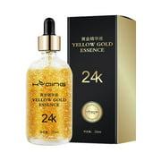 24k Gold Essence Moisturizing Brighten Skin Color Anti-Wrinkle Lighten Fine Lines Face Serum