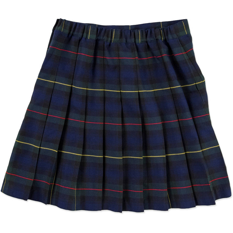 George Girls' School Uniforms, Parochial Plaid Skirt - Walmart.com