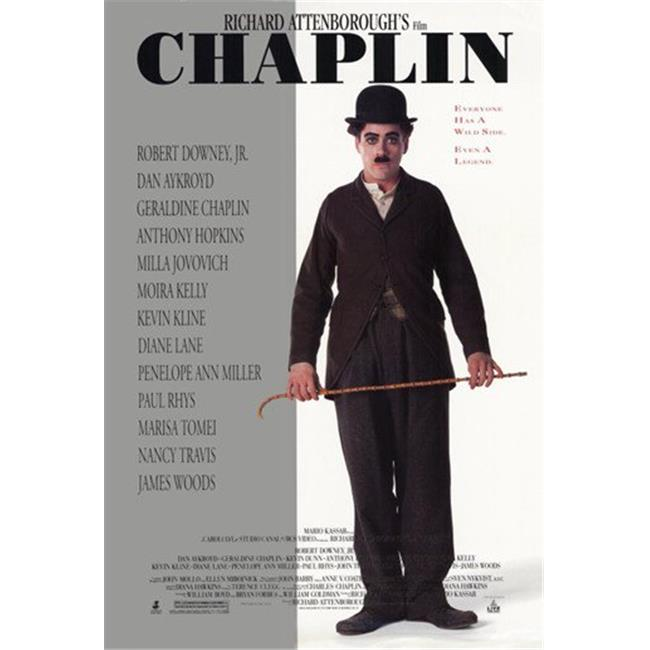 Posterazzi MOV194590 Chaplin Movie Poster - 11 x 17 in. - Walmart.com -  Walmart.com