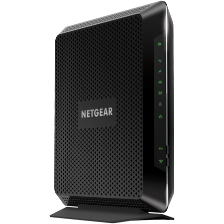 NETGEAR Nighthawk C7000-100NAR (C7000-100NAS) AC1900 (24x8) DOCSIS 3.0 WiFi Cable Modem Router Combo (C7000) Certified for Xfinity from Comcast, Spectrum, Cox, & more (Certified (Ac1900 Router With Docsis 3-0 Modem Combo)