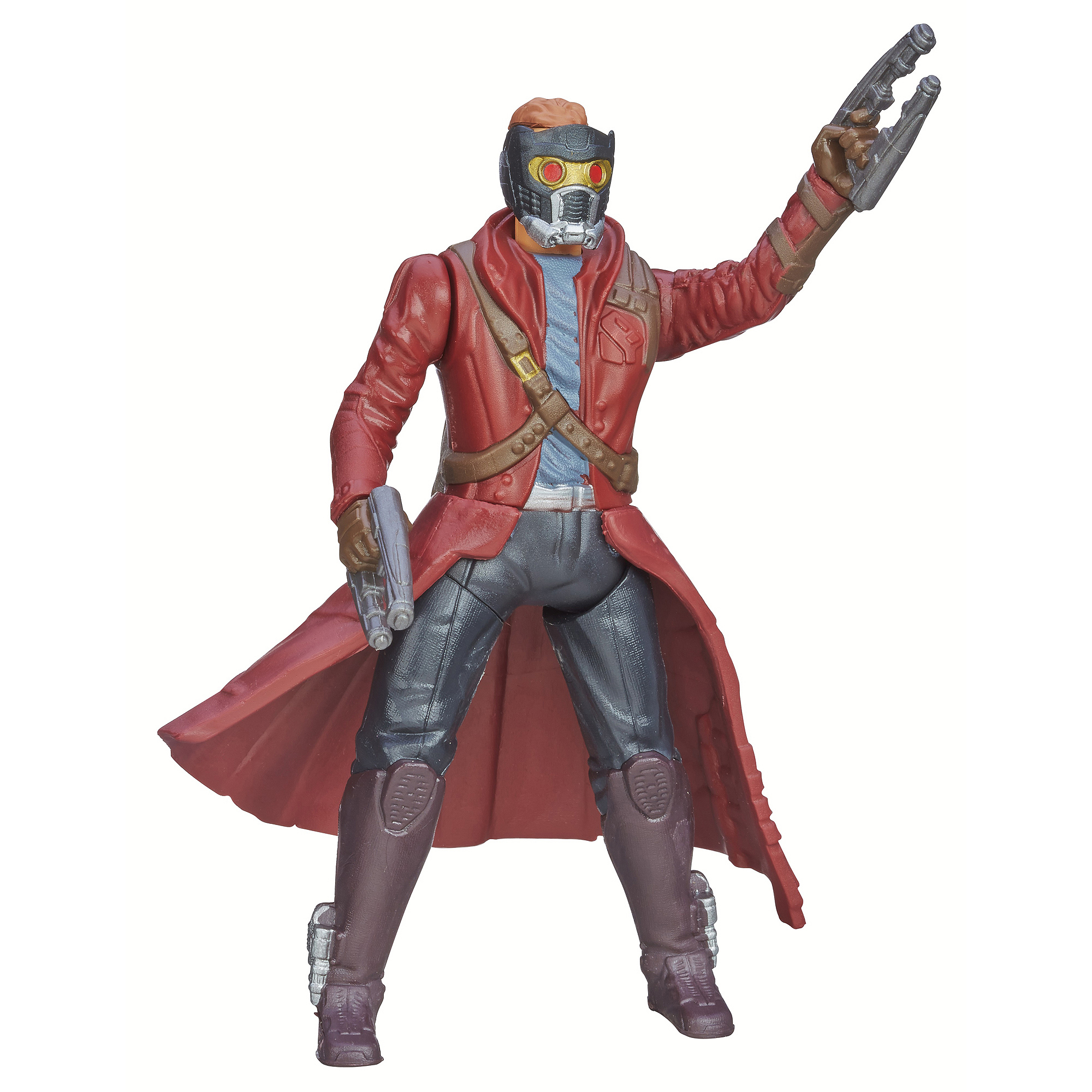 Marvel Guardians Of The Galaxy Galactic Battlers Star-Lord Action Figure
