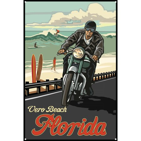 Vero Beach Florida Metal Art Print by Paul A. Lanquist (12