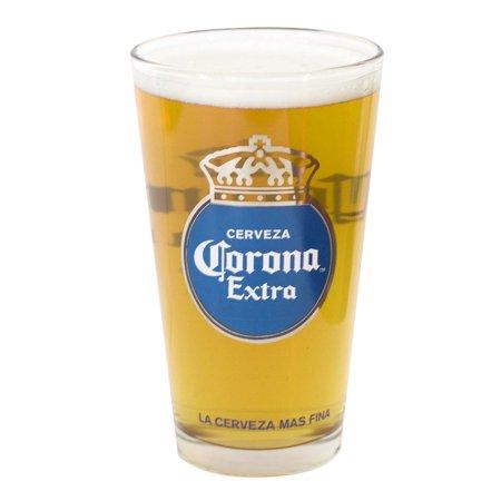 Corona Eagles (Corona Extra Round Logo Pint Glass)